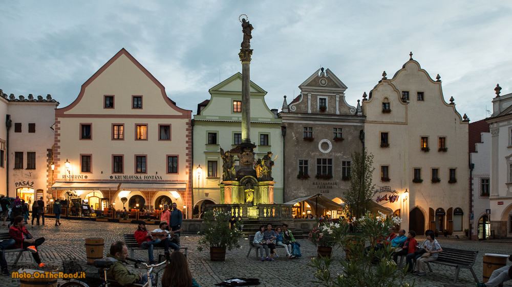 Cesky Krumlov - náměstí Svornosti