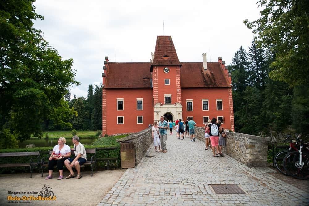Entrata del Castello di Červená Lhota