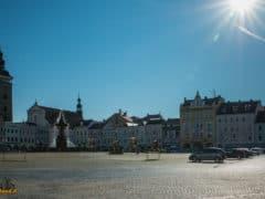 České Budějovice piazza di Přemysl Otakar II - boemia meridionale-0906