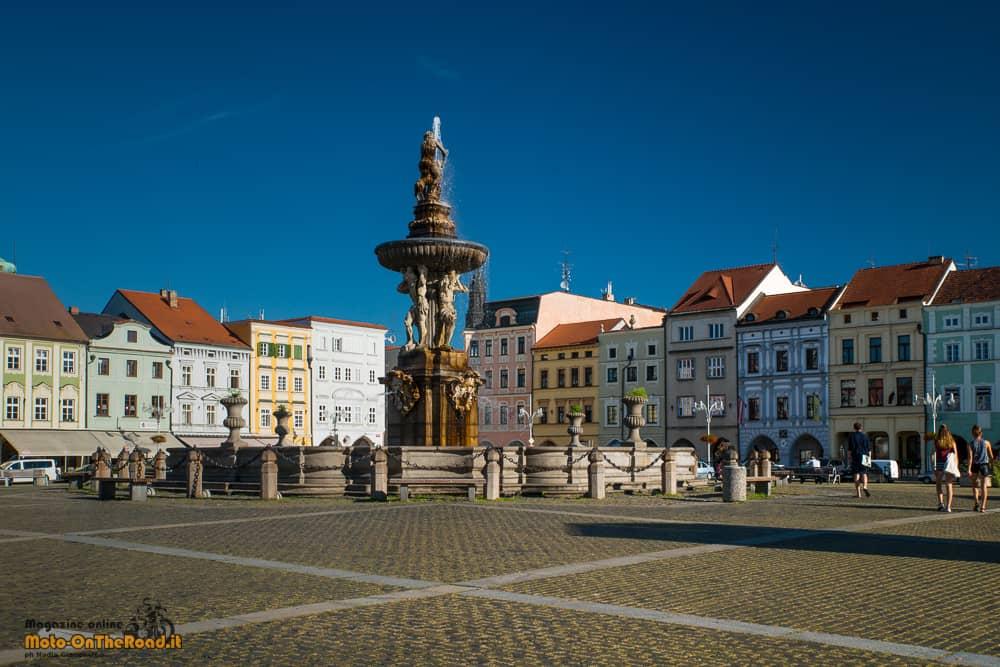 České Budějovice piazza Přemysl Otakar II - Repubblica Ceca