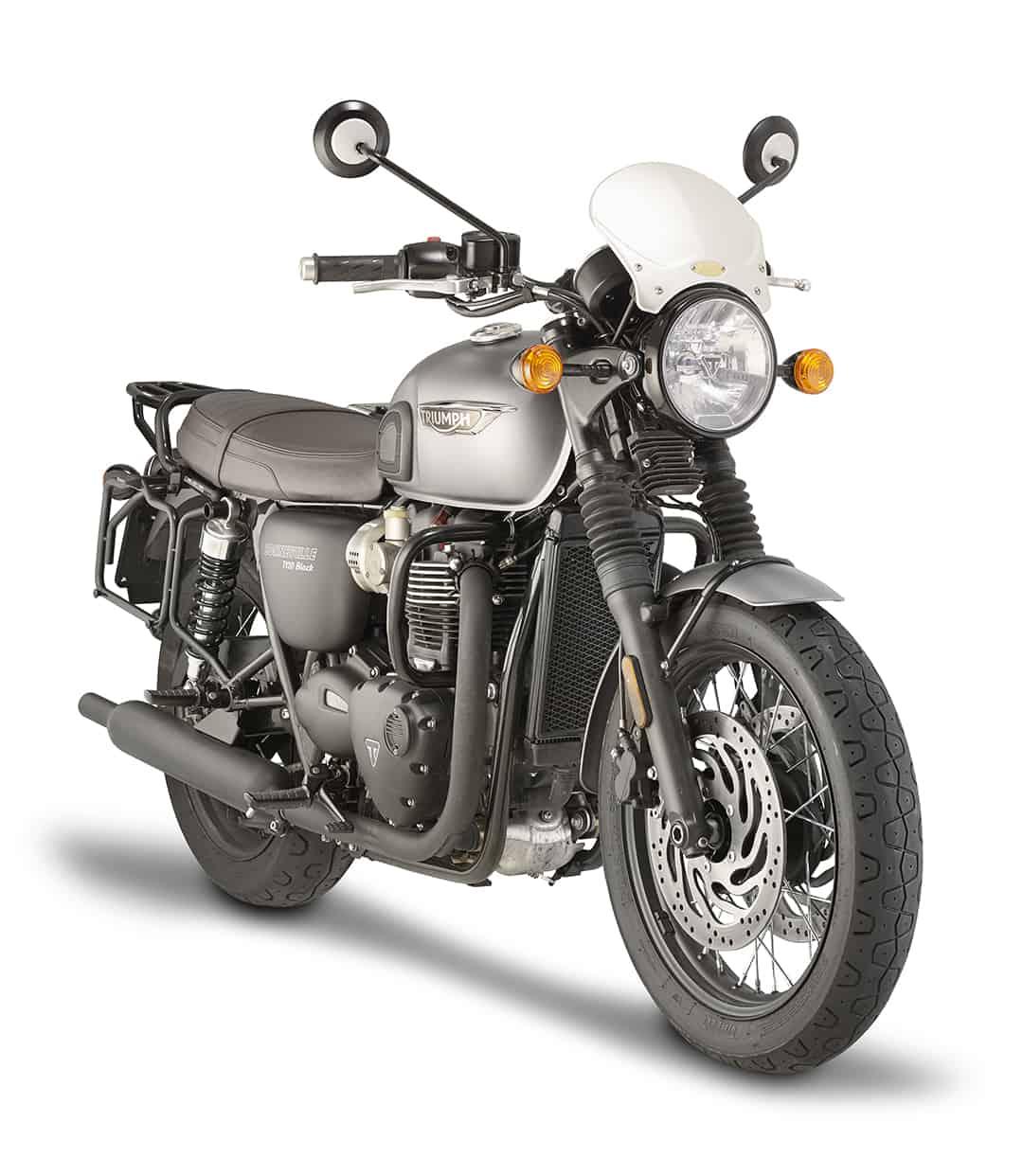 Givi veste la Triumph Bonneville T120