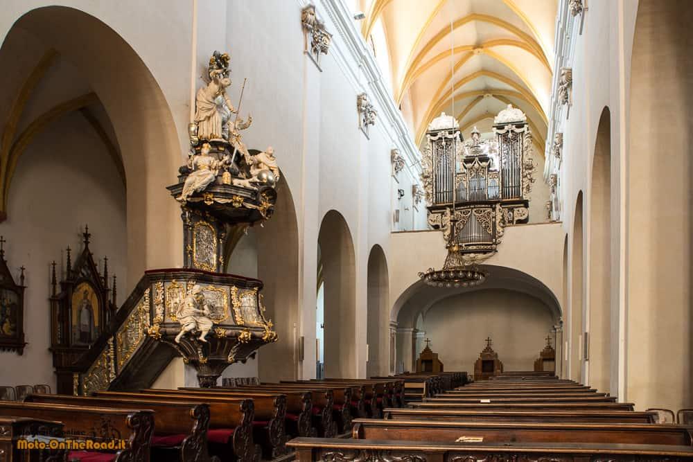 Chiesa del sacrificio della Vergine Maria České Budějovice