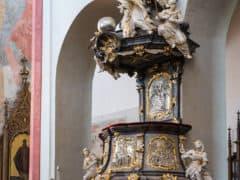 Chiesa del sacrificio della Vergine Maria České Budějovice - boemia meridionale-0959