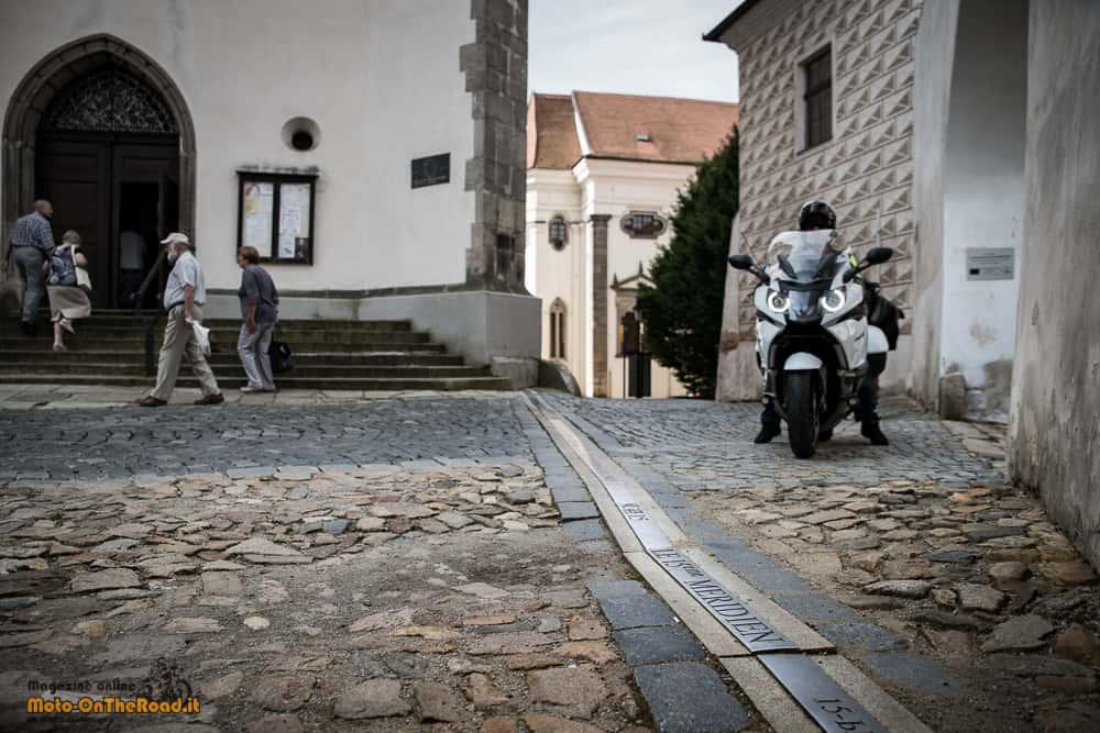 Jindřichův Hradec - 15° meridiano