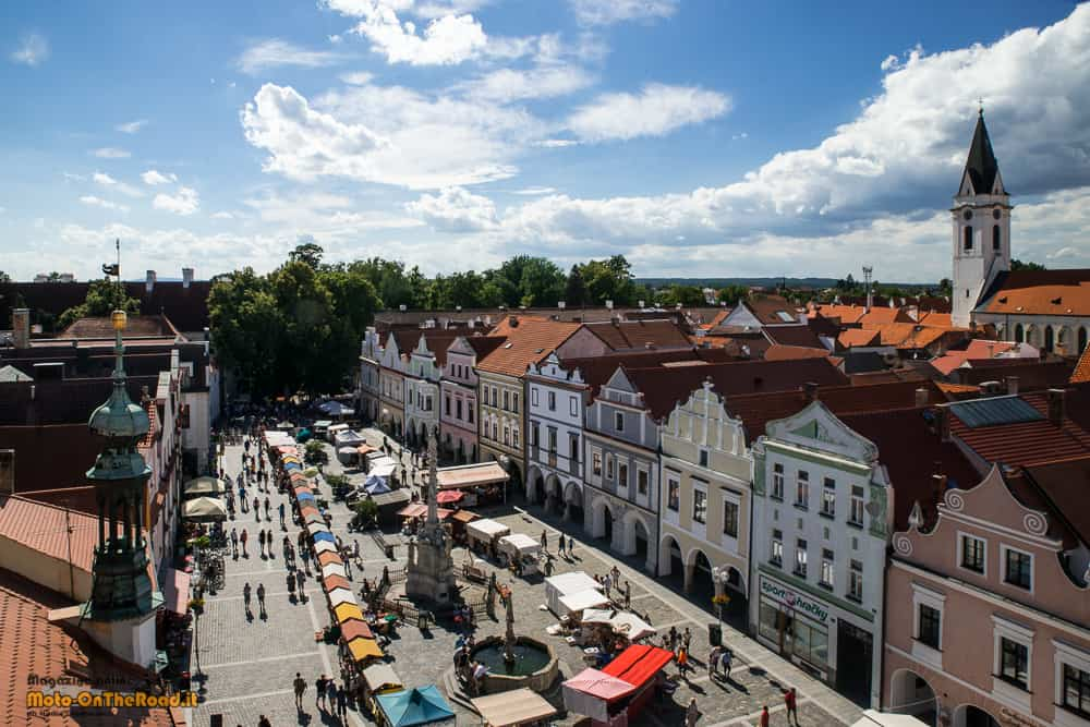 Třeboň - Boemia meridionale- vista dalla torre