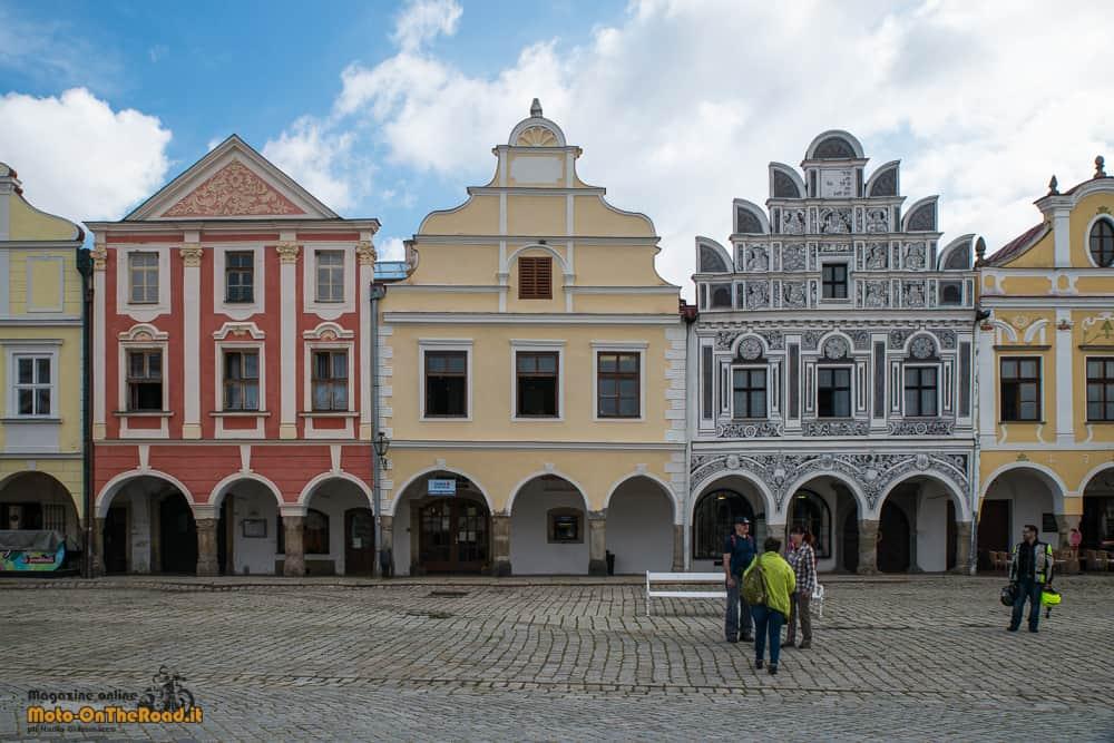 Piazza centrale di Telč - Repubblica Ceca