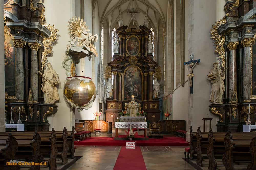 Znojmo - Cattedrale di San Nicola - Moravia Meridionale