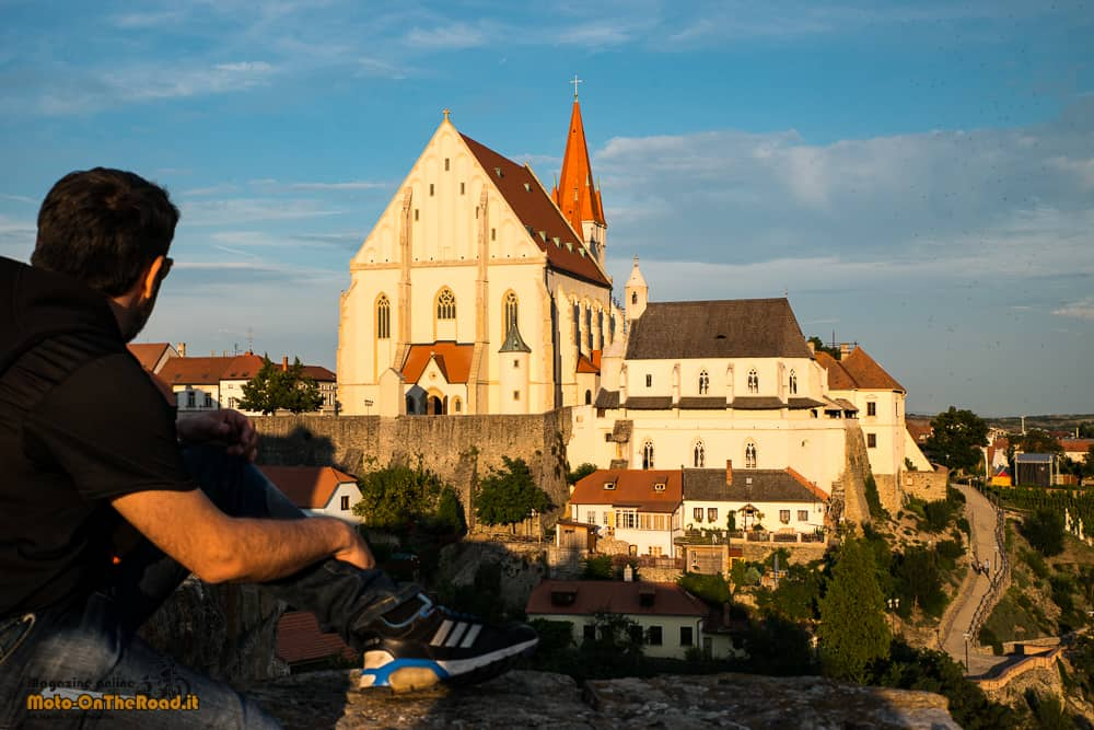 Znojmo al tramonto - Moravia Meridionale