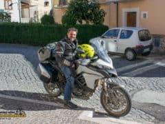 Ducati Multistrada 950 in viaggio