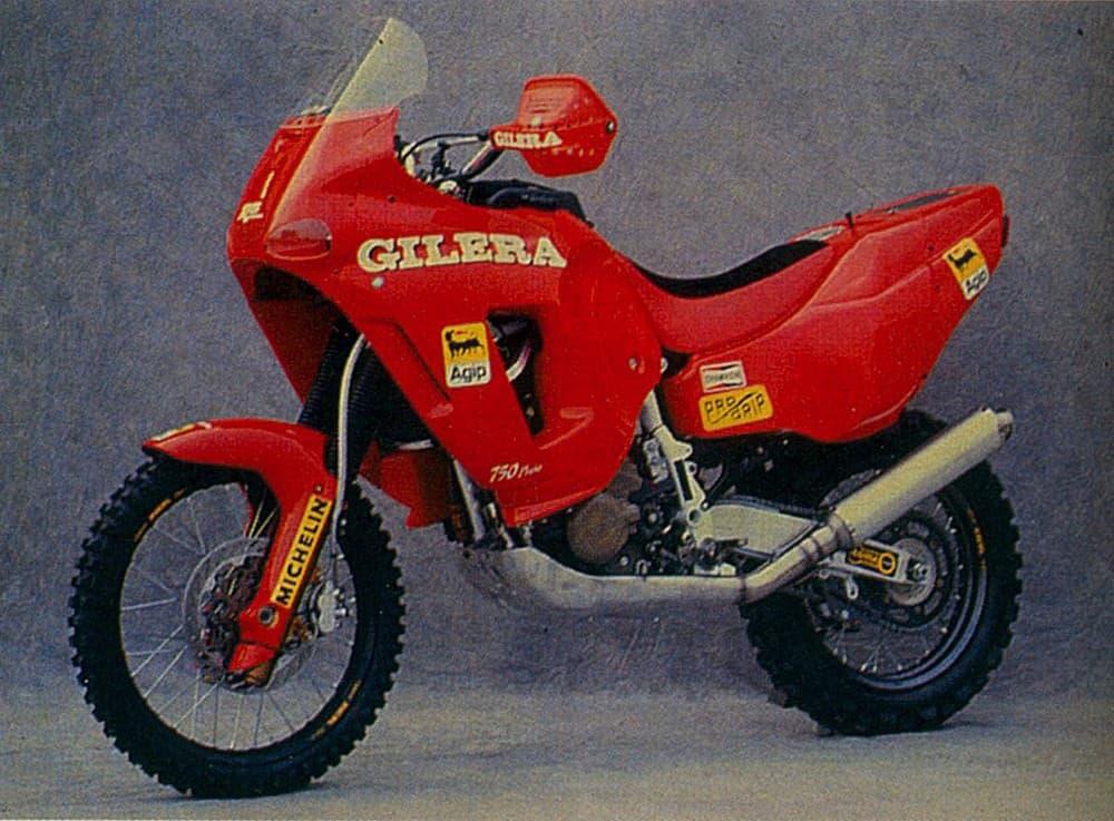 5 moto-Gilera-rc-600- Dakar