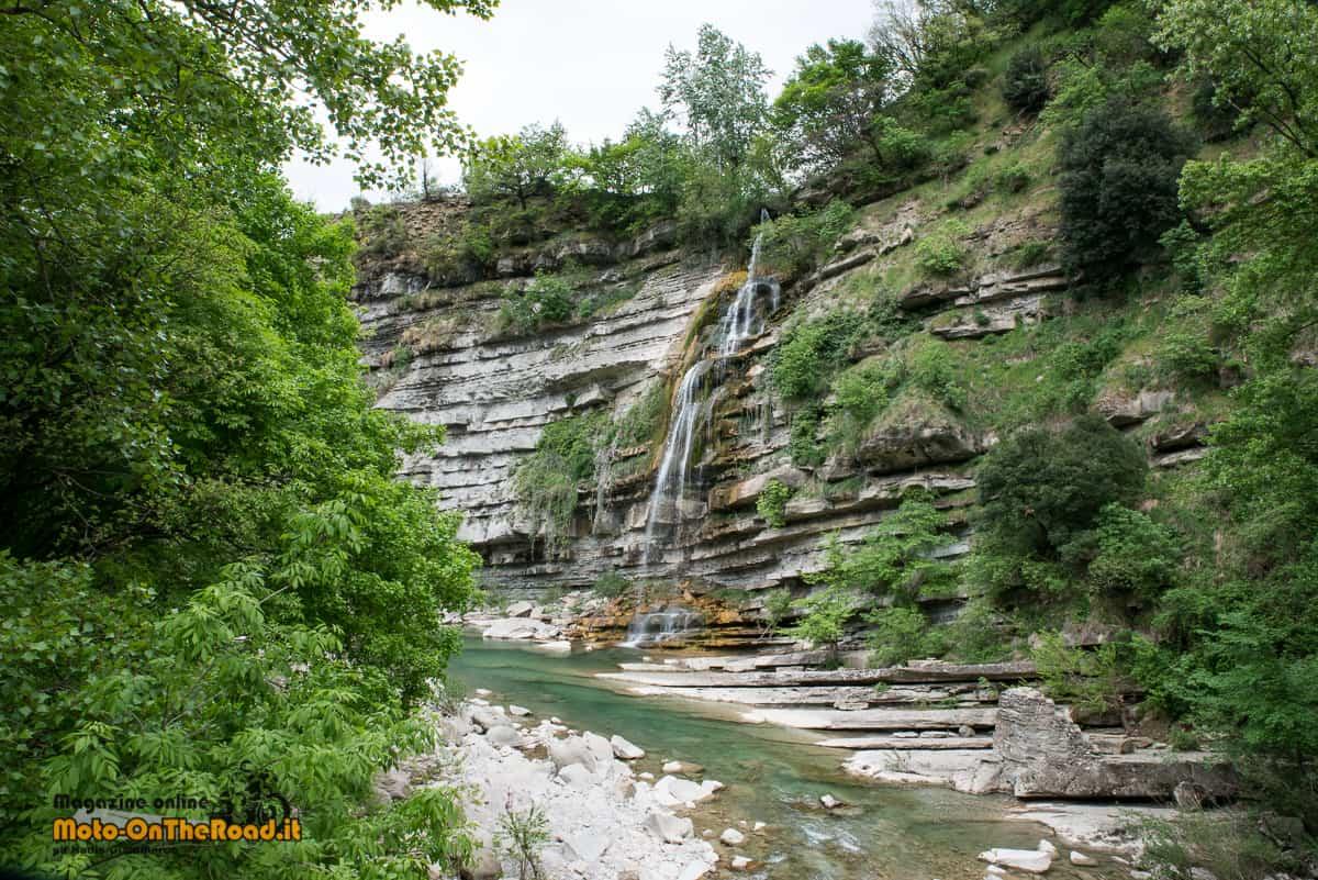 Cascata di Moraduccio, Valle del Santerno