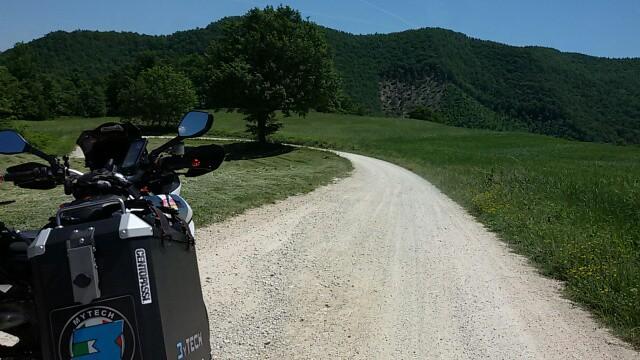 la nostra Centopassi: nei pressi del Montefeltro