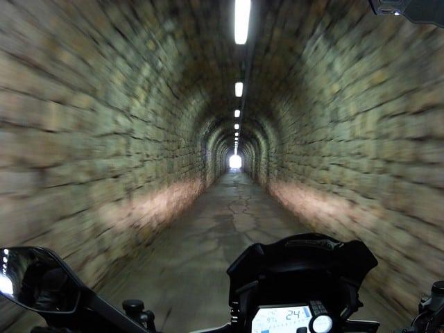 la nostra Centopassi: le gallerie sul Monte Zoncolan scendendo verso Ovaro
