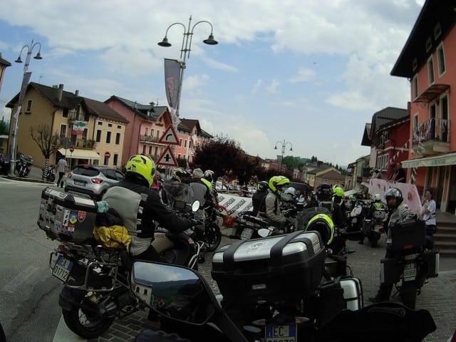 la nostra Centopassi: l'arrivo a Foza, vicino Gallio