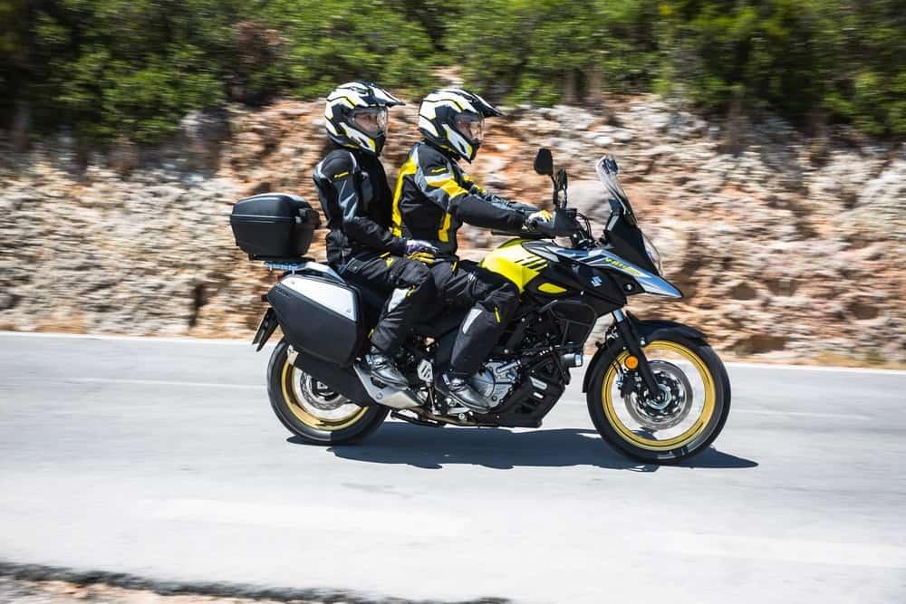 In moto bisogna andare sempre con l'abbigliamento adeguato