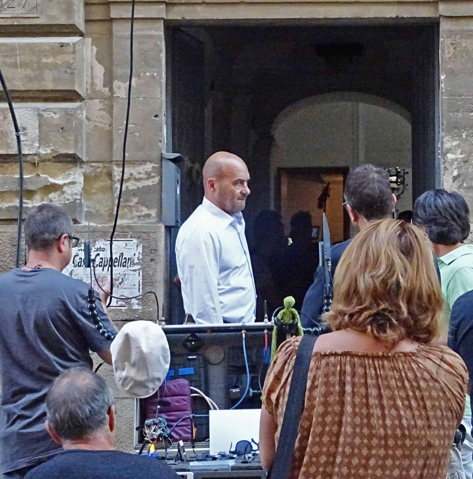 Il nostro fortuito incontro con Luca Zingaretti, bravissimo interprete nel ruolo del Commissario Montalbano