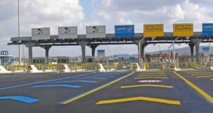 Un casello autostradale