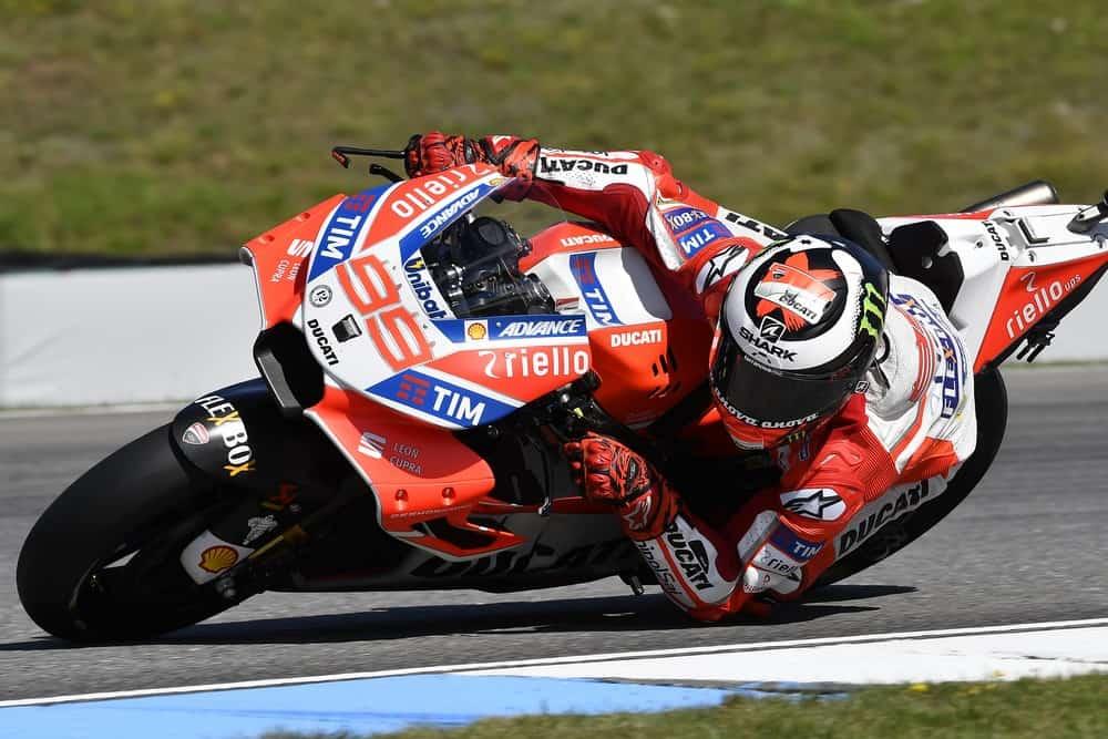 Jorge Lorenzo su Ducati - MotoGp