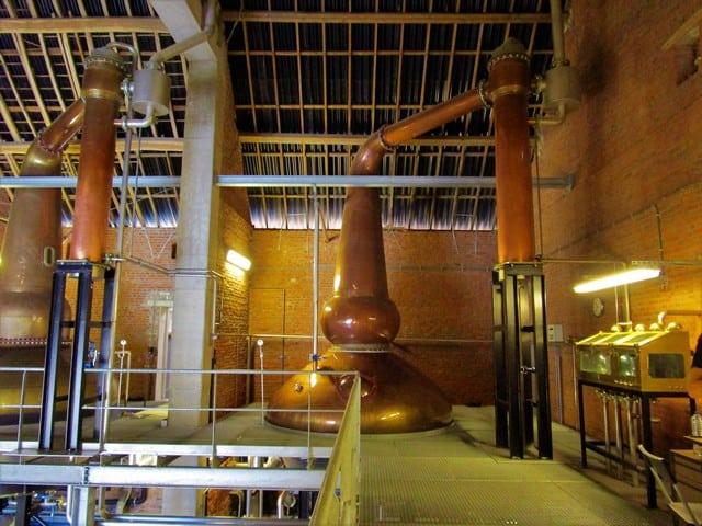 Vallonia in moto: il fermentatore della distilleria portato dalla Scozia