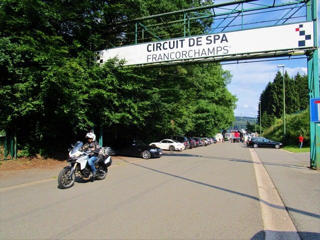 Vallonia in moto, il circuito di Spa