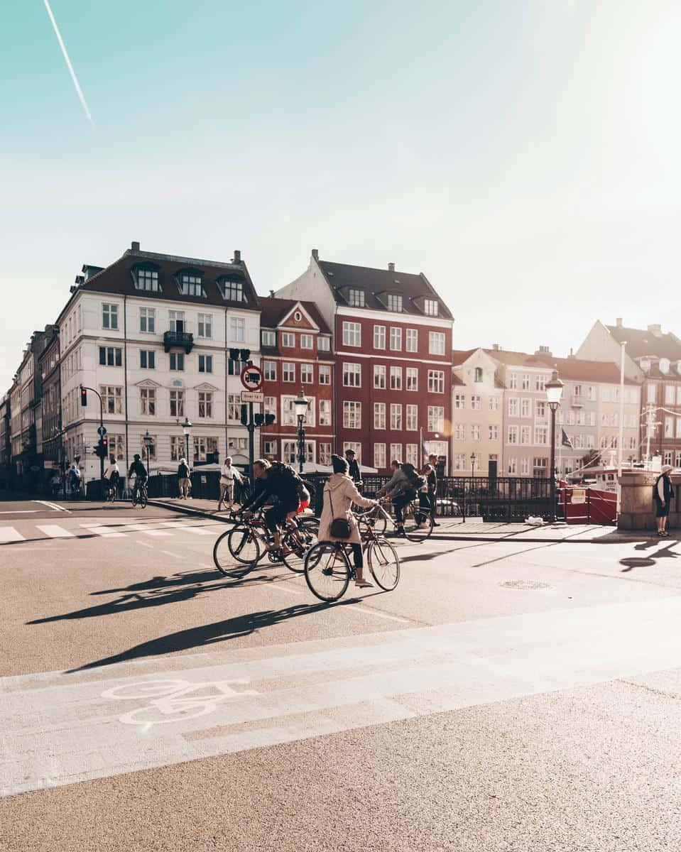 Bikes in Copenaghen