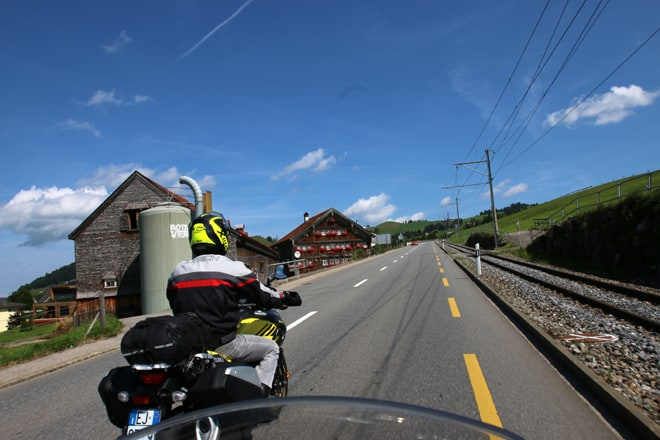Grand Tour of Switzerland, in moto nella Svizzera orientale