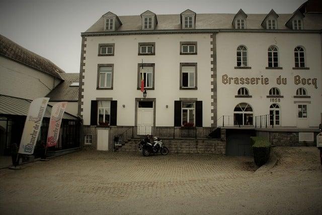 Vallonia in moto, la Brasserie du Bocq che produce, fra le altre, la Blanche de Namur