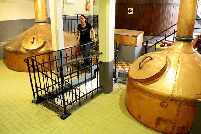 Vallonia in moto; visita fra i fermentatori della brasserie Du Bocq