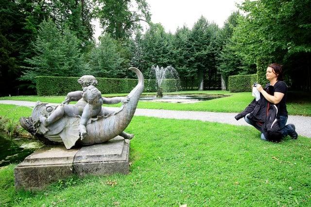 Vallonia in moto, i giardini di Annevoie
