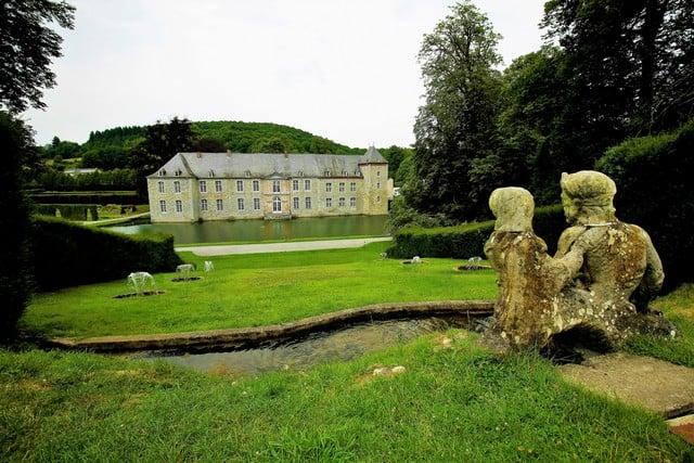 Vallonia in moto, il giardino di Annevoie
