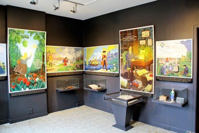 vallonia in moto, il museo della fragola di Namur