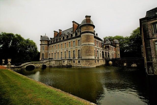 Vallonia in moto; il Castello di Boleil