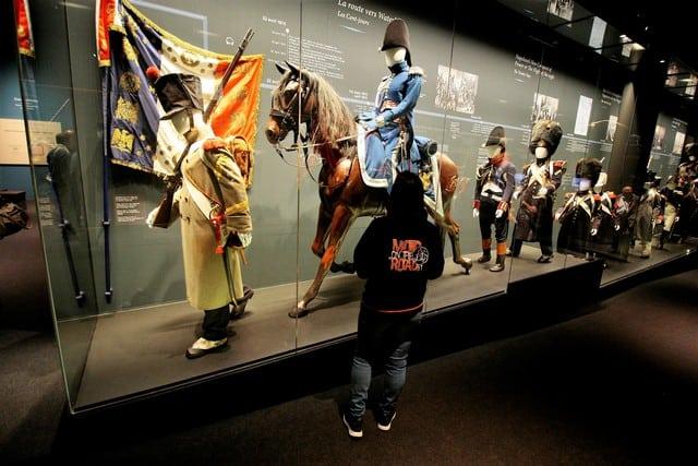 Vallonia in moto, visita al museo della battaglia di Waterloo