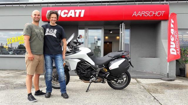 Vallonia in moto, Ducati Aarschot, che ringraziamo per l'assistenza.