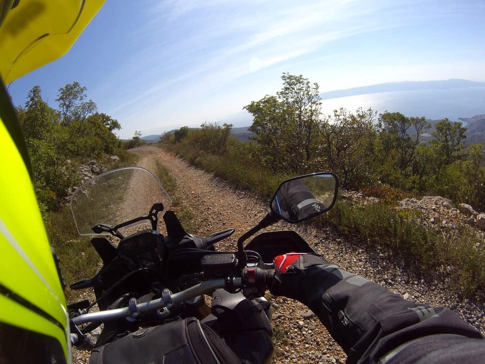 Il bellissimo panorama sul Mar Adriatico