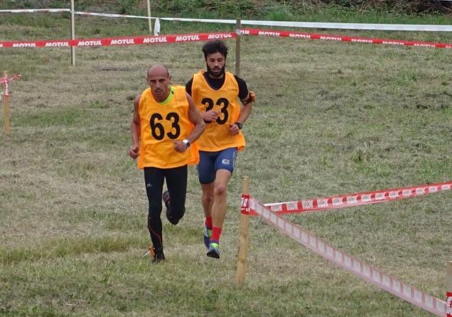 Cavallaro e Uda in fuga nella corsa