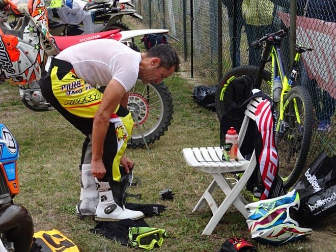 Castelletti al cambio bici/moto