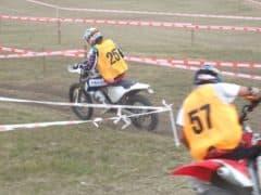 Ruy Barbosa velocissimo in moto