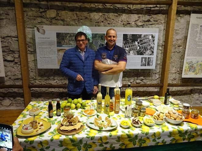 Marco Giraldi e Mario Usardi, di Limone sul Garda