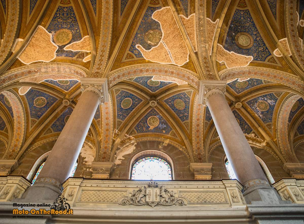 Interni della Sinagoga di Pilsen