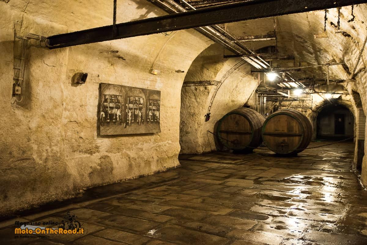 Sotterranei del birrificio Pilsner Urquell