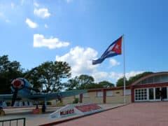 Il museo dedicato allo sbarco della Baia dei Porci a Playa Giron