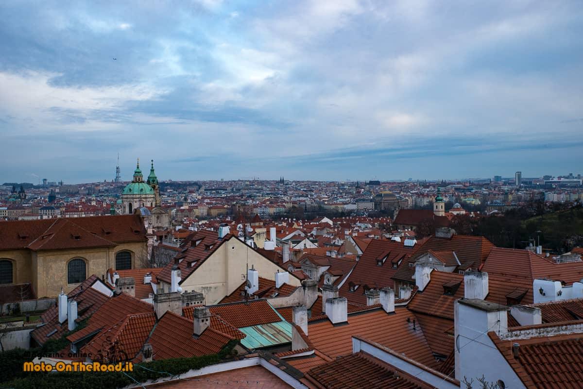 Natale in Repubblica Ceca - Panorama dal Castello di Praga