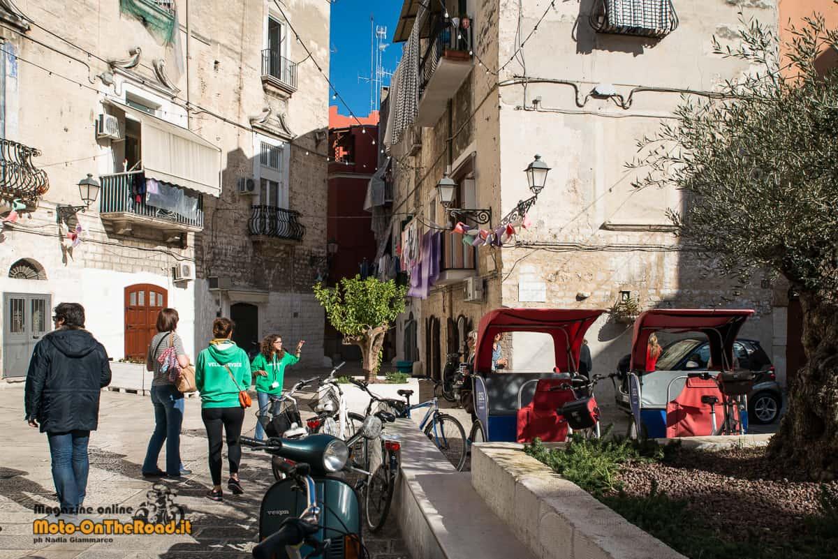 Bari Vecchia in bici