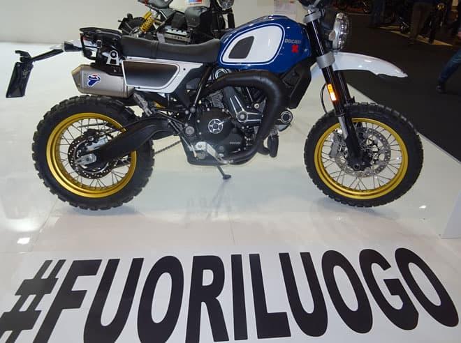 "Motor Bike Expo: Ducati Scrambler ""Fuoriluogo"" di Unit Garage"