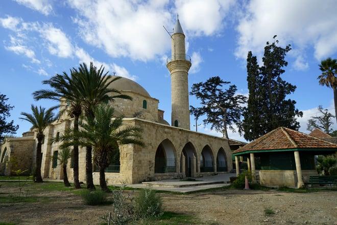 La Moschea Hala Sultan Tekke