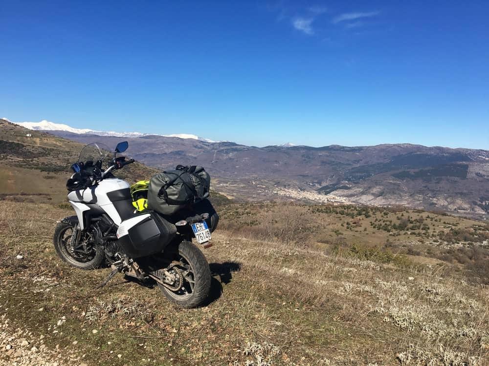 In viaggio in sella alla Ducati-Multistrada 950 nella Ciociaria