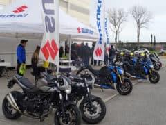 Demo ride delle novità Suzuki