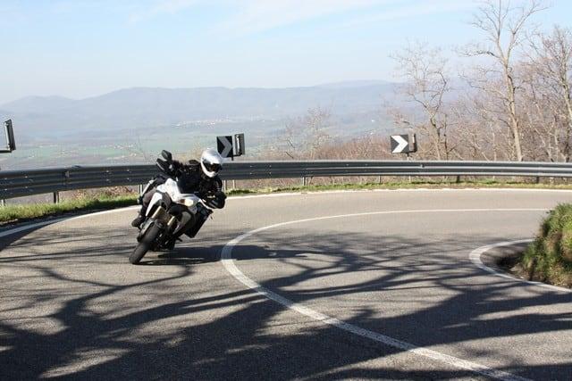 Anlas Capra RD 190 post sul circuito stradale del Mugello