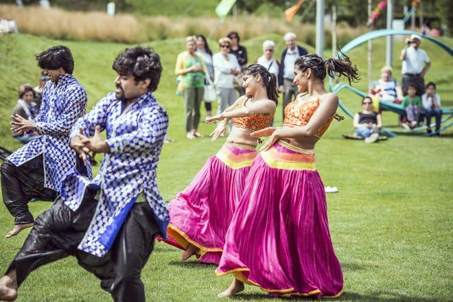Bollywood Dance a Swarovski Kristallwelten